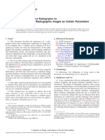 E242-15 Standard Reference Radiographs for Appearances of Radiographic Images as Certain Parameters Are Changed