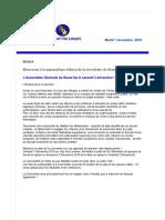 Newsletter 40 Novembre 2016 FR