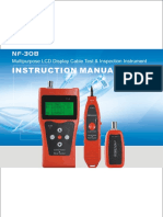 Audio Cable Length Tester NF 308R