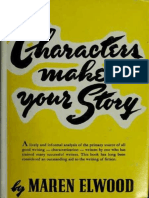 Characters Make Your Story (Maren Elwood)
