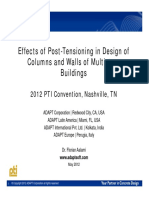 ADAPT Effects of PT Tall Buildings 062912