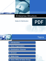 Enterprise Structure