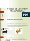 Modelo de Liderazgo Transaccional