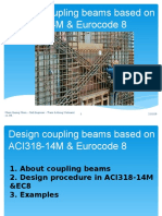 Design Coupling Beams Based OnACI and EC