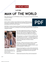 Man of the World (UW Business News Wire)