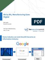 Future of Manufacturing - Kyle Landry