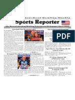 November 2 - 8, 2016  Sports Reporter