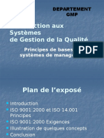 Qualite 5 Cours Assurance Qualite Iso 9000 14001