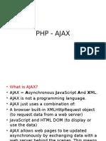 php ajax