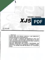 XJ550J Owners XJ550 J