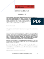 Romans Bible Study 33