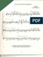 Toquinho Guitar Book Arr by Ivan Paschoito 5 Cancoes Para Violao