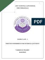 Family Law Vasishtan