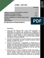 GEV 600 Evaluarea Intreprinderilor