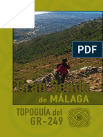GRAN SENDA DE MÁLAGA GR - 249