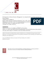 JSTORT- Developments in Human Resource Management_ an Analytical Review of the American and British Models