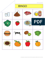 Bingo Pictogramas