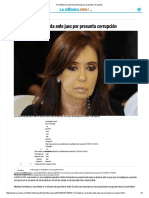Fernández Se Presenta Ante Juez Por Presunta Corrupción
