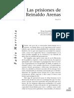 Las Prisiones de Reinaldo Arenas (René Murrieta, Encuentro, No. 2, Otoño 1996)