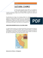 Resumen Cultura Chimu - Peru