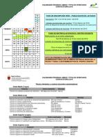 Calendario y Títulos Ofertados -Pruebas Libres 2016