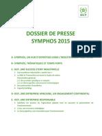 DOSSIERDE PRESSESYMPHOS2015