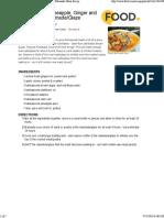 Calypso Rum, Pineapple, Ginger And Brown Sugar Marinade Glaze Recipe - Food.pdf