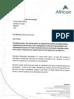 Letter Adjudication EMM