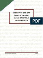 Komdik Subkomite Etika Dan Disiplin Profesi