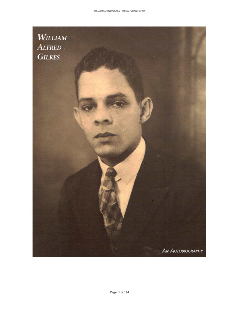 William Alfred Gilkes: An Autobiography | Pharmacist | Water Supply