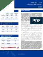 Drug Store Report Q3 2016