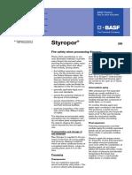Styropor Fire Safety