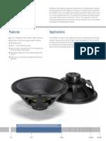 LF18N401 Spec Sheet
