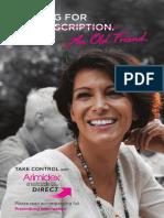 ARIMIDEX Patient Education Brochure_no Cropmarks_v2