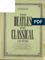 The Beatles for Classical Guitar Arranged by Joe Washington (1974)