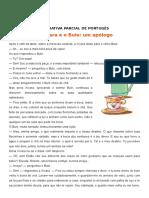 Avaliativa Parcial de Portugês