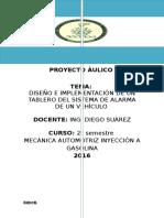Proyecto Sistema de Alarma