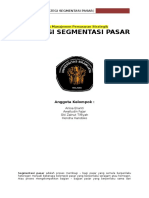 Rangkuman Bab 3 - Strategic Market Segmentation
