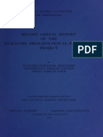 McNeish 1970. Second Annual Report of the Ayaucho Archaeological Botanical Project