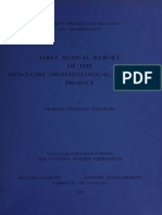 McNeish 1969. First Annual Report of the Ayaucho Archaeological Botanical Project