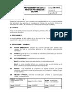 MEJ PR 07 Procedimiento Para La Toma de Acciones de Mejora