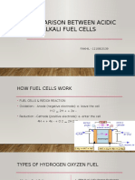 Comparison Between Acidic and Alkali Fuel Cells
