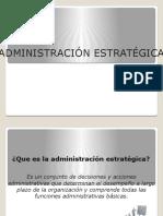 13- Administración Estratégica