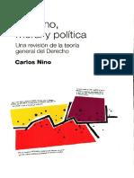 Derecho, Moral y Politica. Una Revision de La Teoria General Del Derecho - Carlos Nino