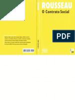 Jean-Jacques Rousseau-O Contrato Social-Público (2010)