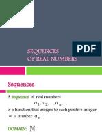 Math 36 (2nd Sem 1213) - Handout - Sequences