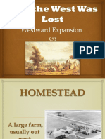 how the west was lost  1