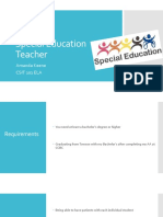 special education teacher powerpoint