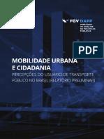 Mobilidade Urbana e Cidadania - FGV DAPP
