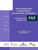 Recomendaciones _Alimentacion CANCER